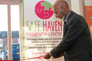 opening ceremony at Safe Haven Dementia Centre