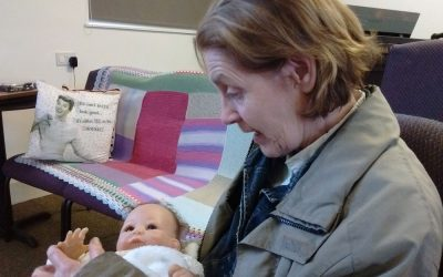 Doll therapy brings comfort and joy to clients at Safe Haven